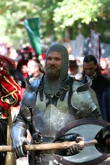 Knight with Two Handed Axe