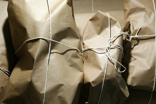 Brown paper packages tied up with string | by tim ellis