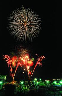 Fantastic Fireworks at Thorpe Park