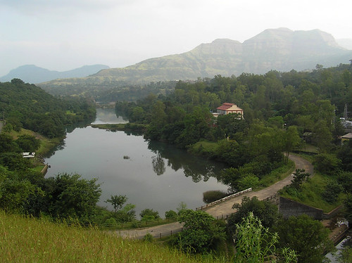 The bridge over the river Pravara