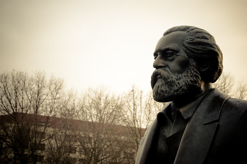 Marx in Winter | by fhwrdh
