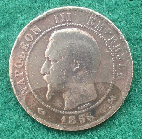 Napoleon III Empereur Coin 1856   corncrake68   Flickr