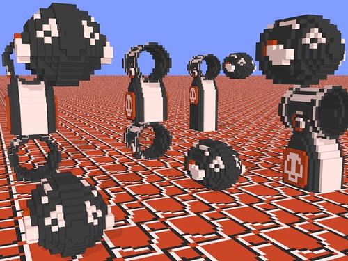 3 D Super Mario Bros Bullet Bill A 3 D Modeled Scene Wi