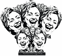 hillary's last laugh | by http://TheConcreteJungleBook.com