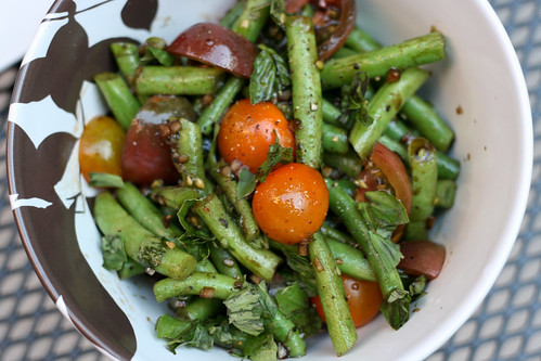 Bean & Tomato Salad | by Gillian Gutenberg