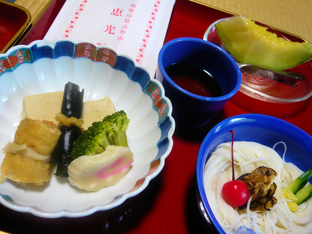 Ekoin temple - Shôjin-ryôri dinner