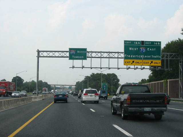 Exit 16, I-70, Interstate 695 Near Baltimore, Maryland | Flickr