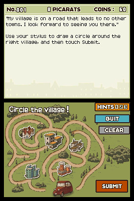 Professor Layton and the Curious Village screenshots | by gamesweasel