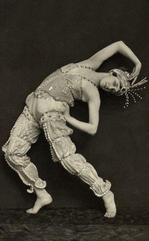 Tamara Karsavina - Shéhérazade - 1910