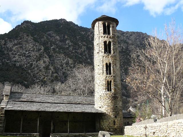 Iglesia románica de Santa Coloma (Andorra)