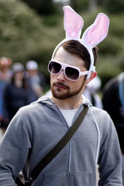 People Portraits: Easter bunny