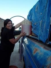 Venta de gasolina, Ameca, Zacatecas, Mexico