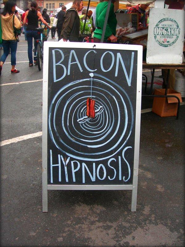 look into my bacon
