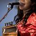 Rosie Ledet performing at Festival International