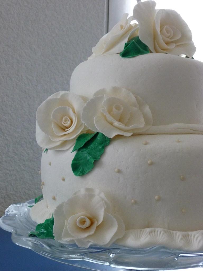 torte diamantene hochzeit biskuit mit orangenbuttercreme d flickr