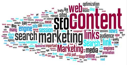 online marketing blog wordle - from toprankblog.com
