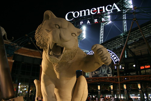 Tiger Statue - Comerica Park   by Kevin.Ward