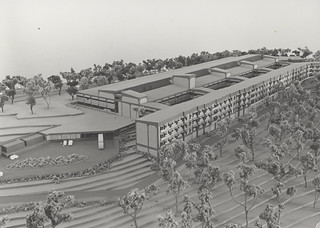 Concept artwork for John Hunter Hospital, New Lambton, NSW,  Australia - 1989 | by Auchmuty Library, UON