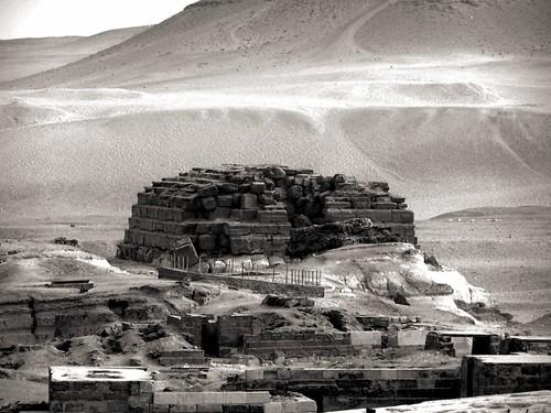 old photo sand ancient desert stones egypt pyramids giza zone