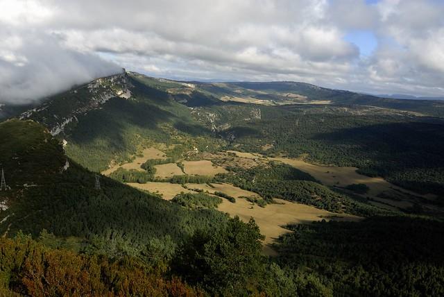 Paisaje en Valderejo