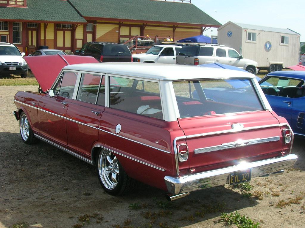 1964 Chevrolet Chevy Ii Nova Station Wagon Custom Eyl 3 Flickr