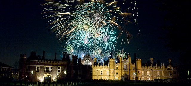 Fantastic Fireworks at Hampton Court