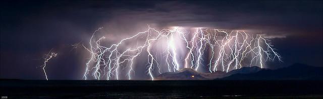 Great Salt Lake, Utah; Energizer Bunny,