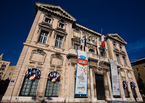 Hôtel de ville de Marseille by mouzhik