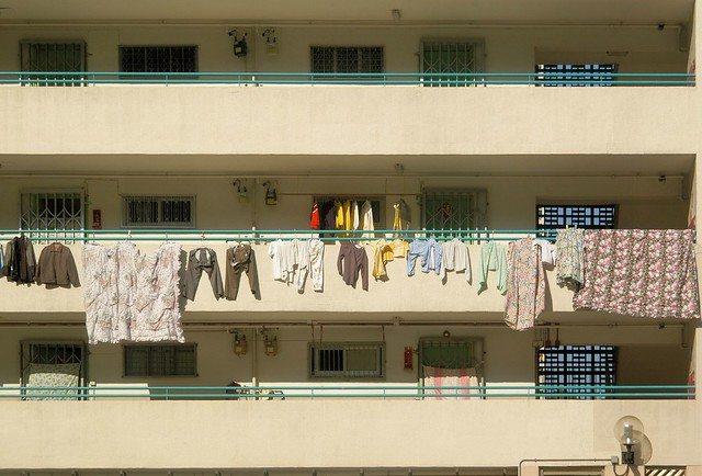 Hong Kong - Laundry Day