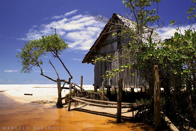 Foz do Rio Trancoso na Bahia