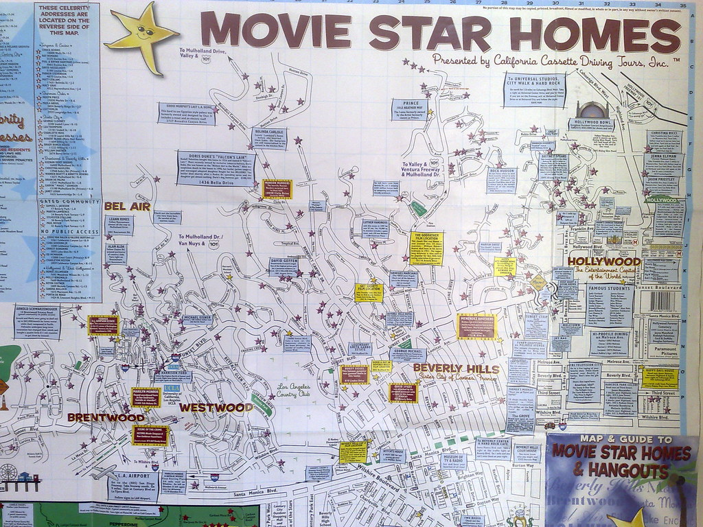 star map hollywood hills All Sizes Movie Star Homes Beverly Hills Hollywood Flickr