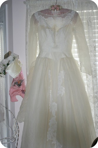 Vintage Wedding Gown | by Sherry's Rose Cottage