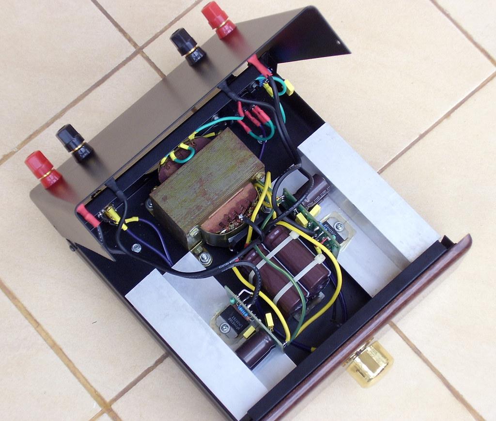 2x50w lm3875 gainclone amplifier inside 2x50w lm3875 gai flickr