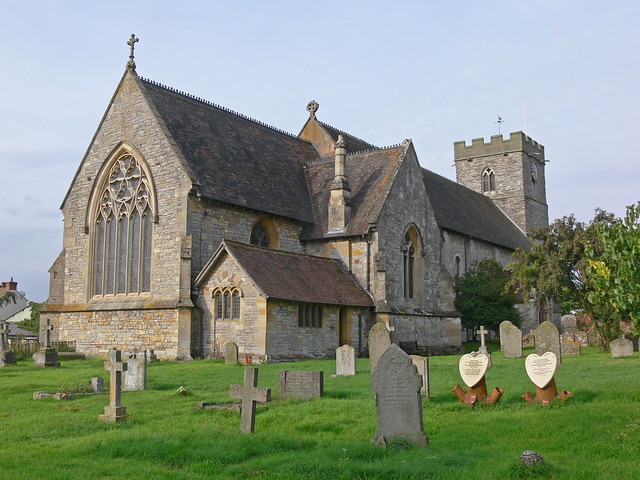 St. Mary Magdalene, Twyning Church from the Northeast