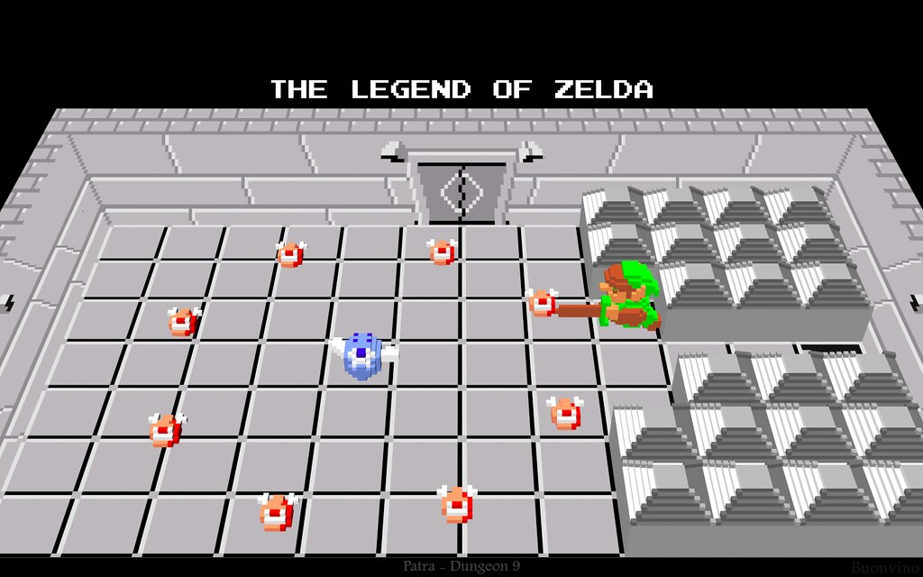 Legend of zelda level 9