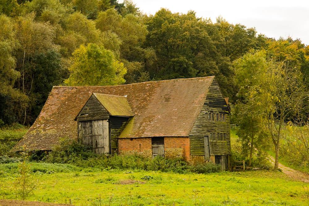 Old barn at Park Farm, Wotton