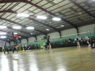 badminton : jump smash | by RedCraig
