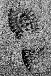 shoe print | by Phil_Williams