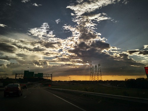 cameraphone road sunset sky clouds nexusone
