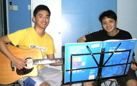 Adult guitar lessons Singapore Marcus