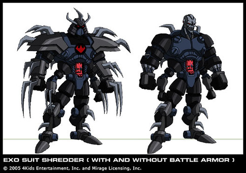 Exo Suit Shredder Courtesy 4kids Tmnt Blog Vi Flickr