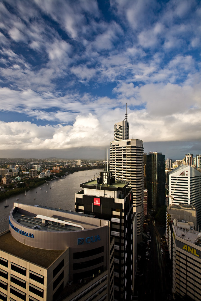 Image: High Above Brisbane