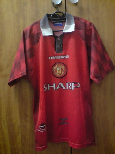 cheap for discount 7b611 73cf5 Manchester United 1996-1998 home kit, SS | pyroboy1911 | Flickr