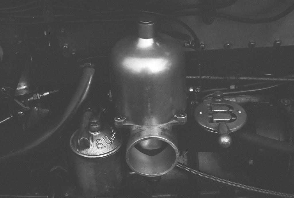 Carburettor on Vintage Supercharged Bentley (Leica M6)   Flickr