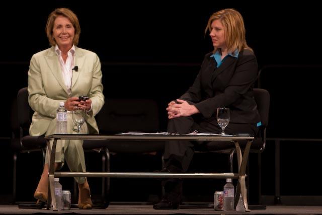 Nancy Pelosi & Gina Cooper