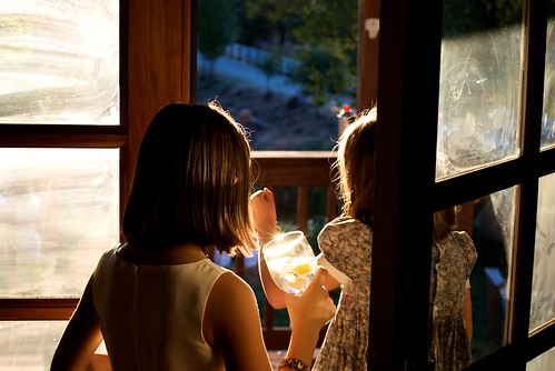 california door wedding sunset summer sunlight glass kids children vineyard warm reception sunburst summertime fairplay ★★★★★