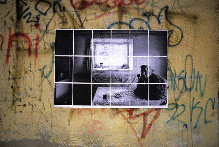 Free experiment exhibition, Pancevo's 13em biennale, Serbia.