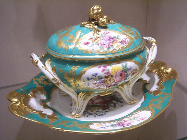 Sevres porcelain in the imperial palace