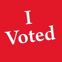 I Voted   by Mykl Roventine
