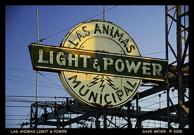 LAS ANIMAS LIGHT AND POWER